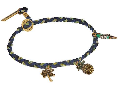Marc Jacobs Charms Tropical Pineapple Friendship Bracelet - Blue Multi