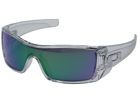 Oakley Batwolf - Polished Clear w/ Jade Iridium