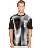 McQ - Striped River Tee