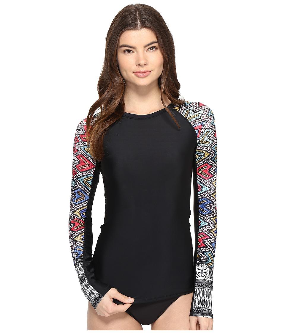 Roxy Fashion Long Sleeve Rashguard (Regata Soaring Eyes) Women