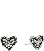 Marc Jacobs - MJ Coin Heart Studs Earrings