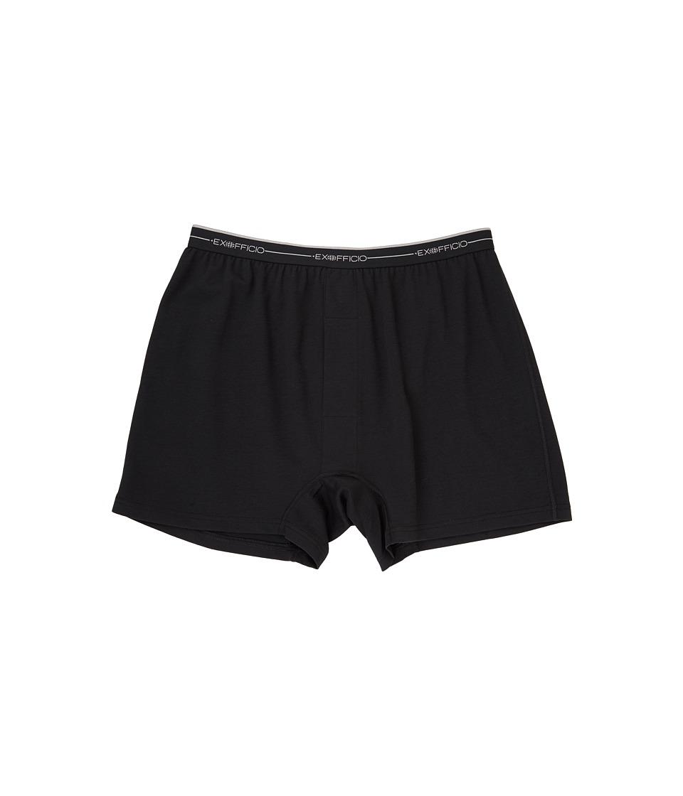 ExOfficio Sol Cool Boxer (Black) Men's Underwear