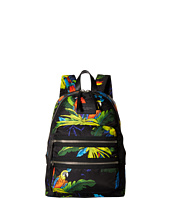 Marc Jacobs - Parrot Printed Biker Backpack