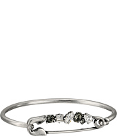 Marc Jacobs - Safety Pin Strass Safety Pin Hinge Cuff Bracelet