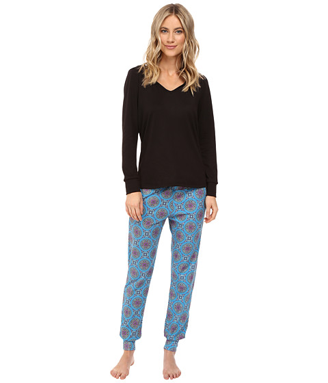 BedHead French Terry Long Sleeve Hoodie and Jogger Pants Set