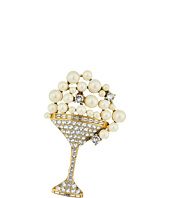 Marc Jacobs - Charms Tropical Martini Brooch