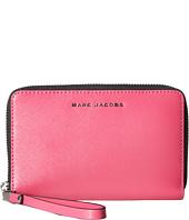Marc Jacobs - Saffiano Bicolor Zip Phone Wristlet