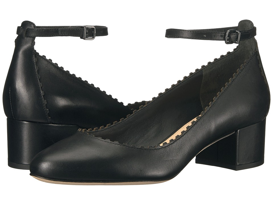 Via Spiga Dionne (Black Nappa Leather) High Heels