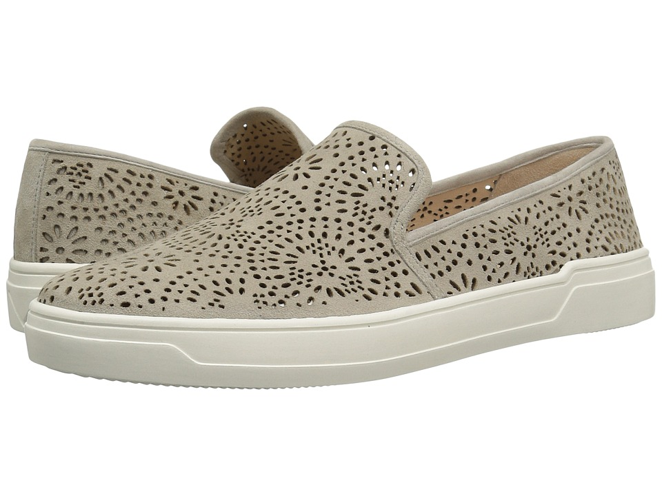 Via Spiga - Gavra (Pavilion Grey Suede) Womens Slip on  Shoes