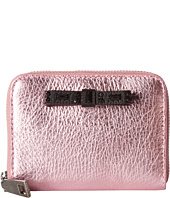 Marc Jacobs - Metallic Bow Zip Card Case