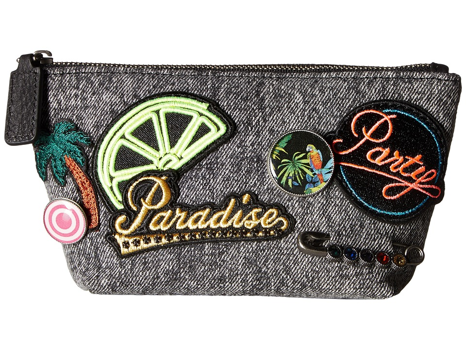 Marc Jacobs Paradise Cosmetics Small Trapezoid (Black) Cosmetic Case