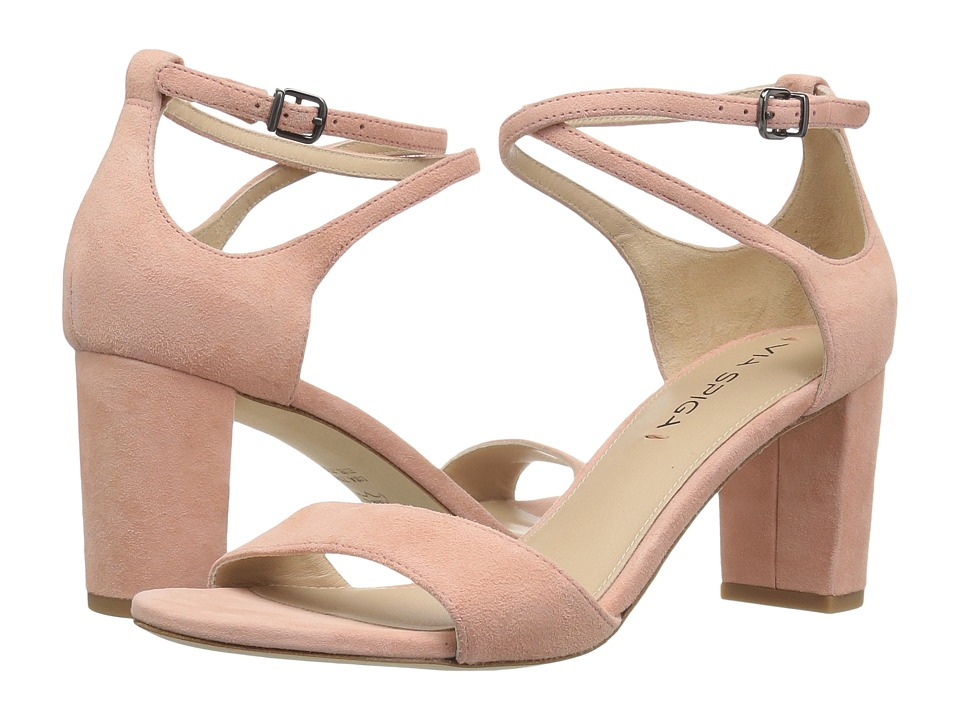 Via Spiga Wendi (Salmon Suede) High Heels