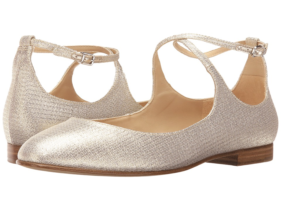 Via Spiga Yovela (Platinum Metallic Fabric) Women