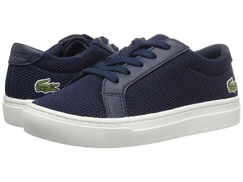 Lacoste Kids L.12.12 BL 2 SP17 (Little Kid) - Navy