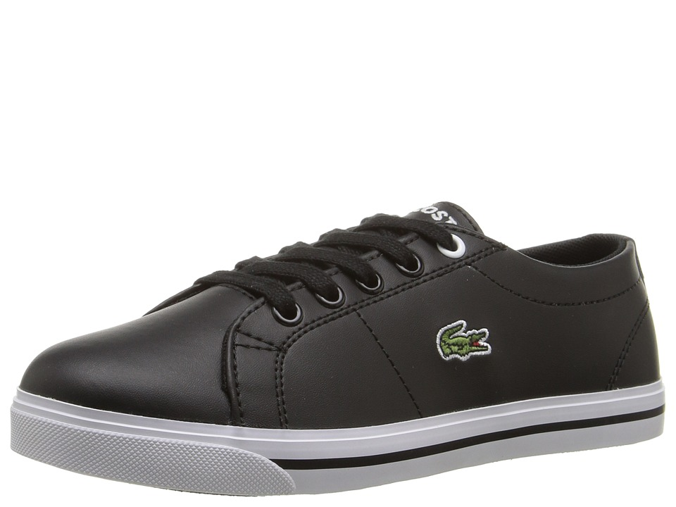 Lacoste Kids - Marcel 117 1 SP17 (Little Kid) (Black/Black) Kids Shoes
