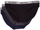 Calvin Klein Underwear Radiant Cotton 3-Pack Bikini