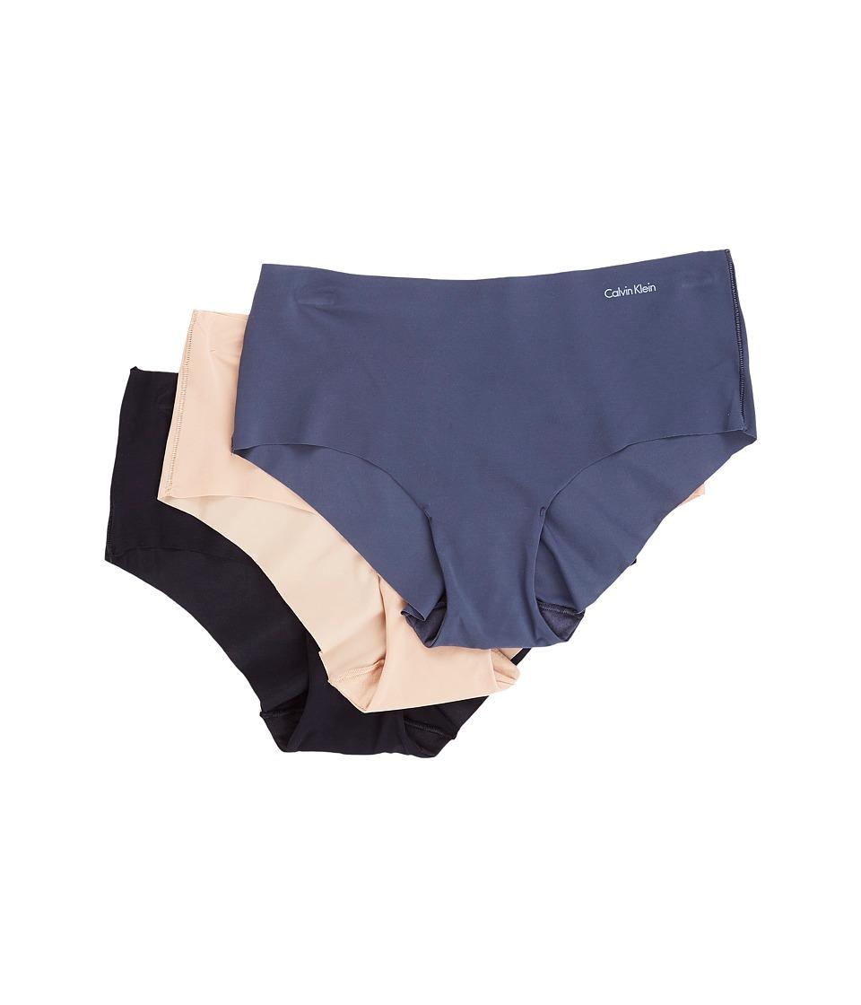 Calvin Klein Underwear - Invisibles 3-Pack Hipster (Speak...