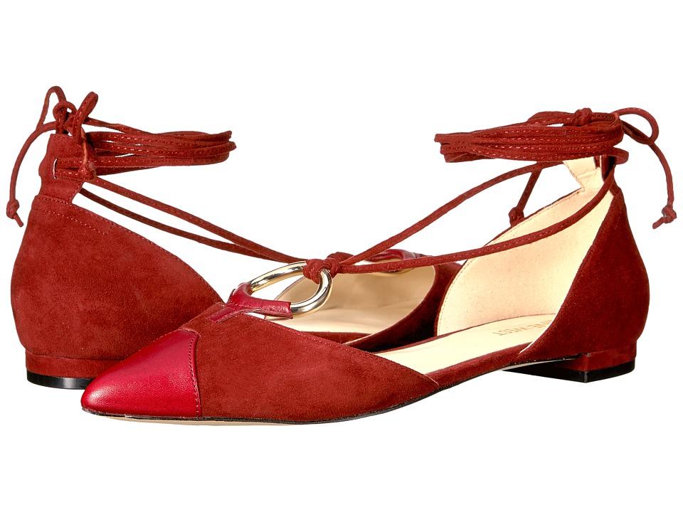 Nine West Alice (Dark Red/Dark Red Suede) Women