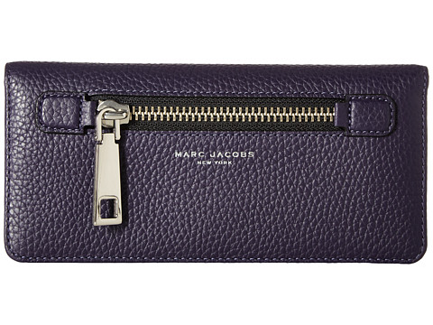 Marc Jacobs Gotham Open Face Wallet - Nightshade