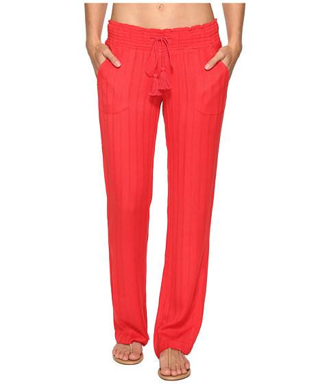 Roxy - Ocean Side Pants Cover-Up (Hibiscus) Women's Swimwear
