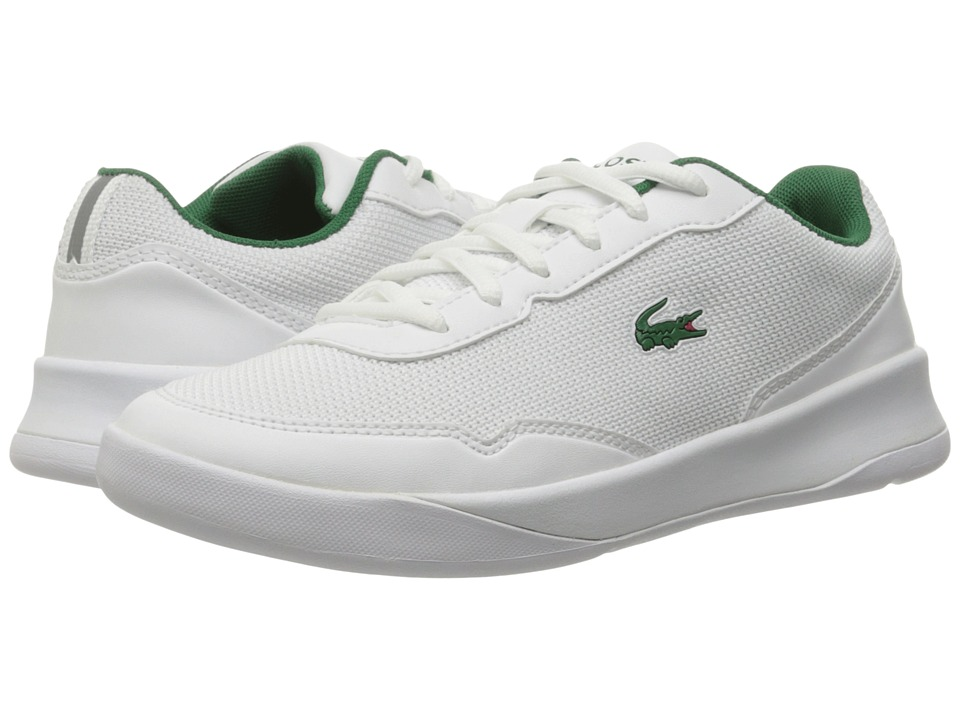 Lacoste Kids - LT Spirit 117 1 SP17 (Little Kid/Big Kid) (White/Green) Kids Shoes