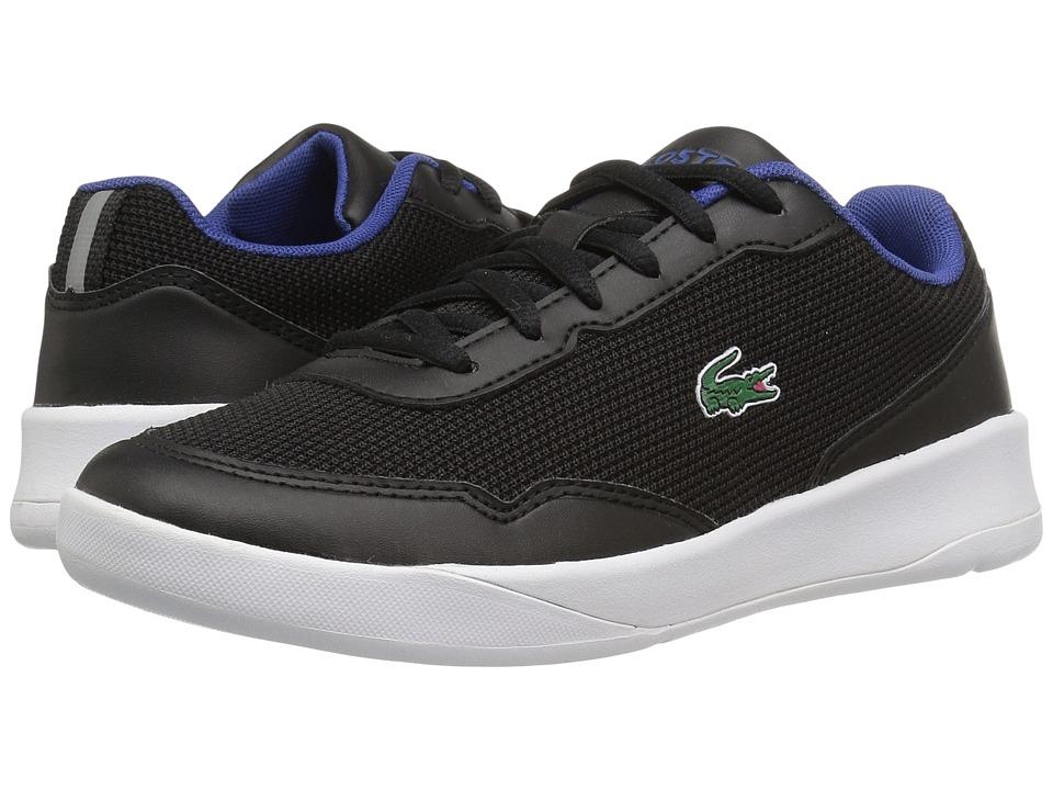Lacoste Kids - LT Spirit 117 1 SP17 (Little Kid/Big Kid) (Black/Black) Kids Shoes