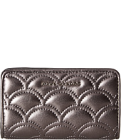Marc Jacobs - Matelasse Metallic Compact Wallet