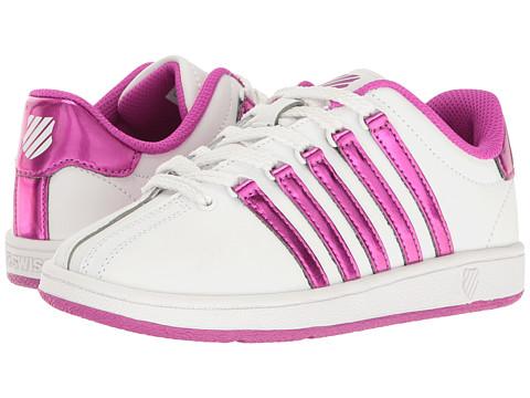 K-Swiss Kids Classic VN™ (Little Kid) - White/Pink