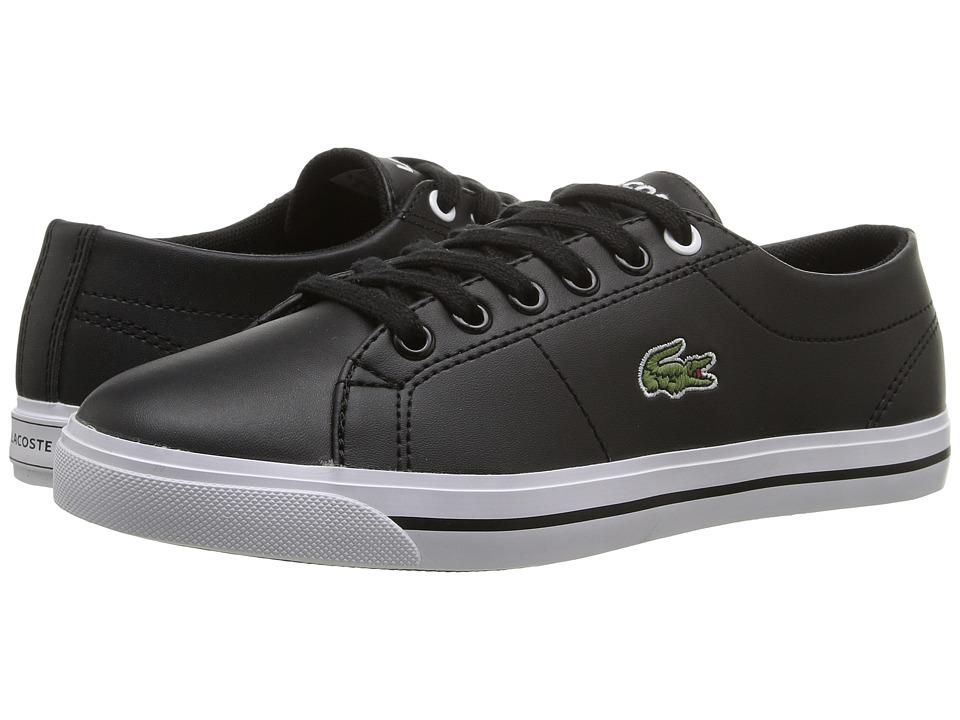 Lacoste Kids - Marcel 117 1 SP17 (Little Kid/Big Kid) (Black/Black) Kids Shoes