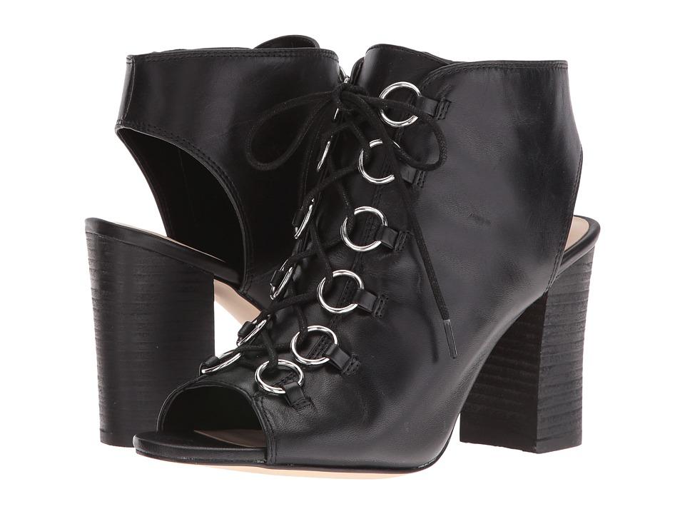 Nine West - Bree (Black Leather) High Heels