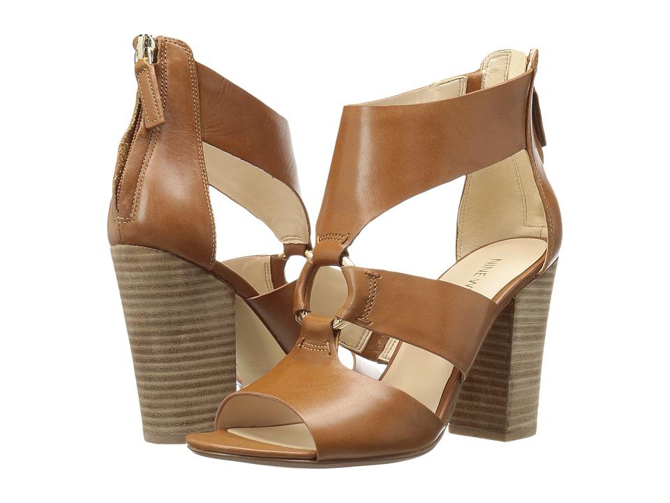 Nine West Roamah (Cognac Leather) High Heels