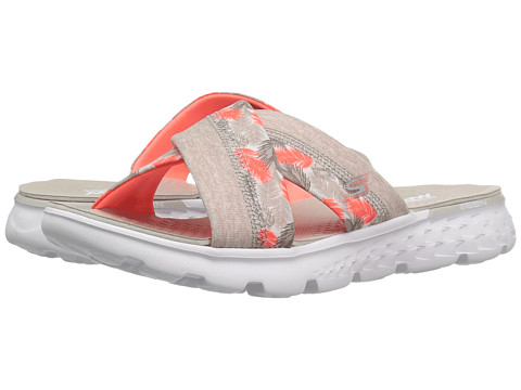 SKECHERS Performance On-The-Go 400 - Tropical - Natural/Coral