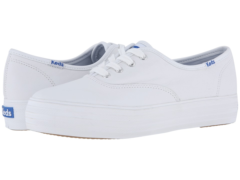 Keds Triple Leather (White)