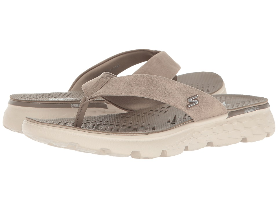 SKECHERS Performance On-The-Go 400 Essence (Taupe) Women