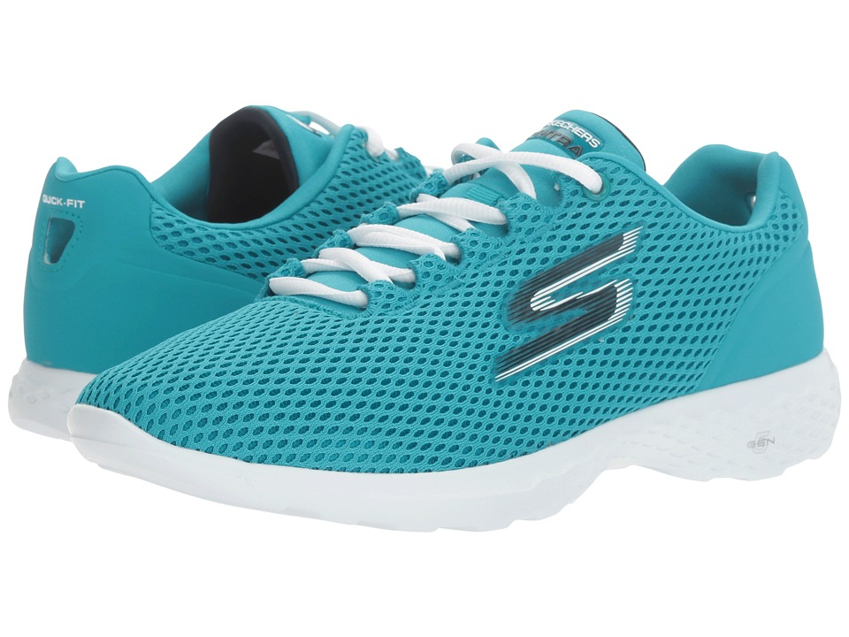SKECHERS Performance - Go Train (Turquoise) Womens Shoes