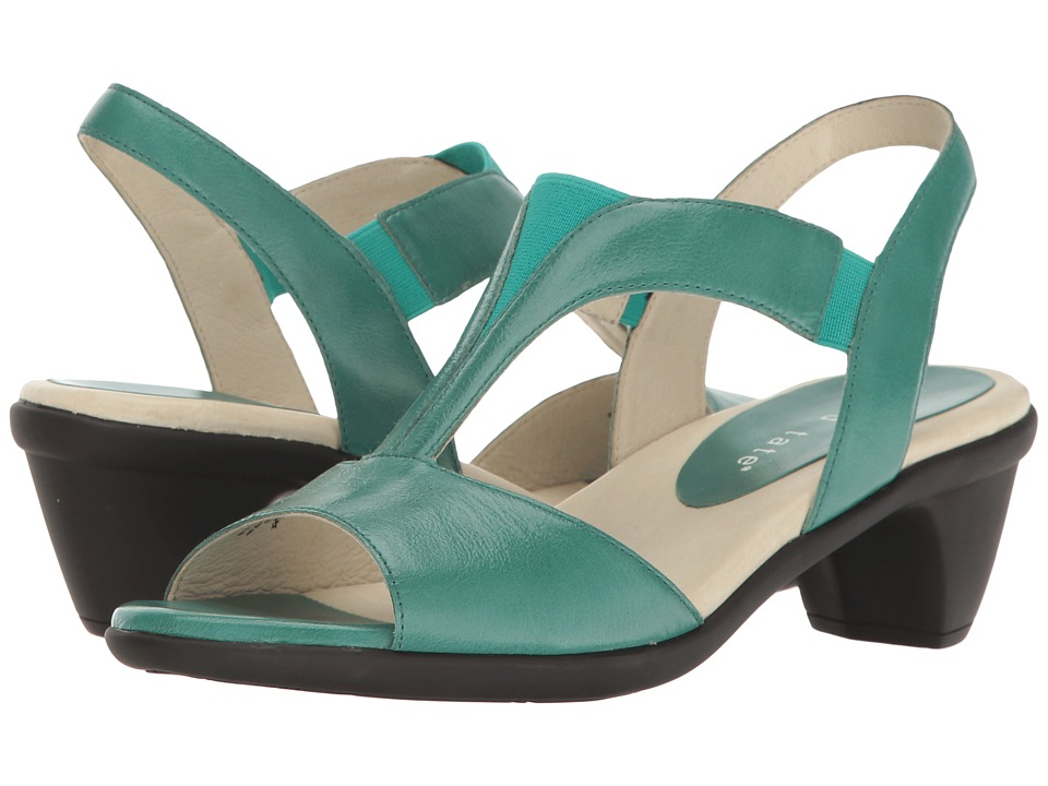 David Tate Accord (Teal Glazed Calf) Women
