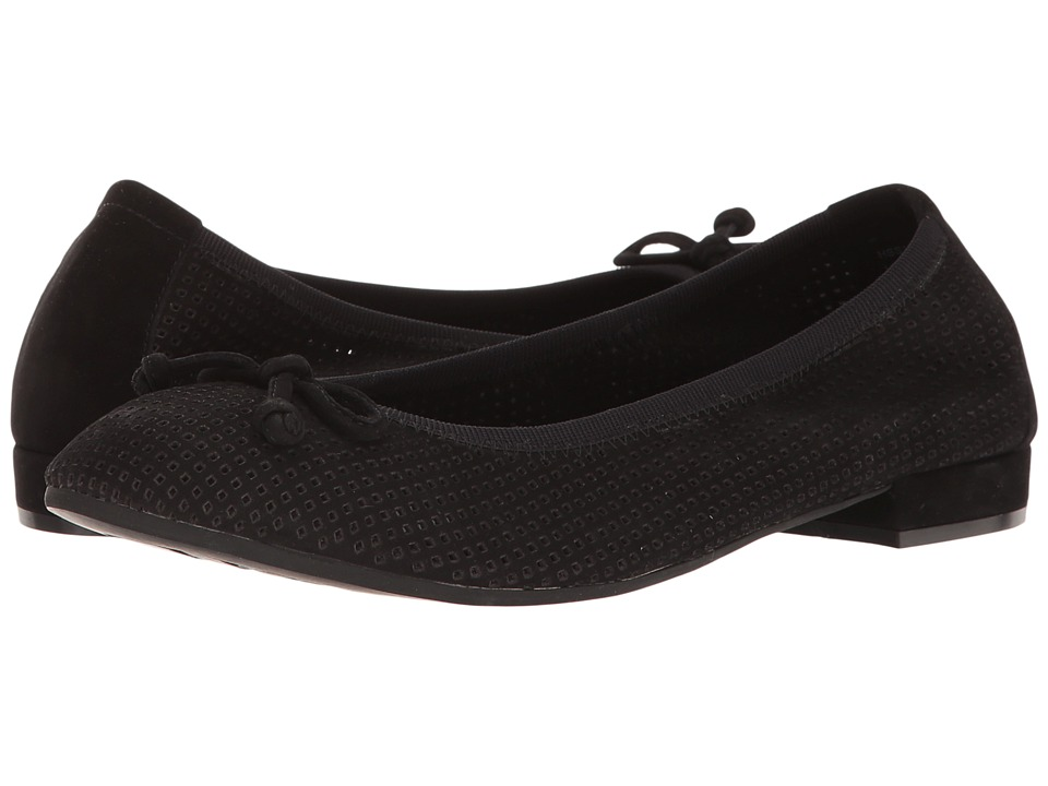 David Tate Albany (Black Nubuck) Women
