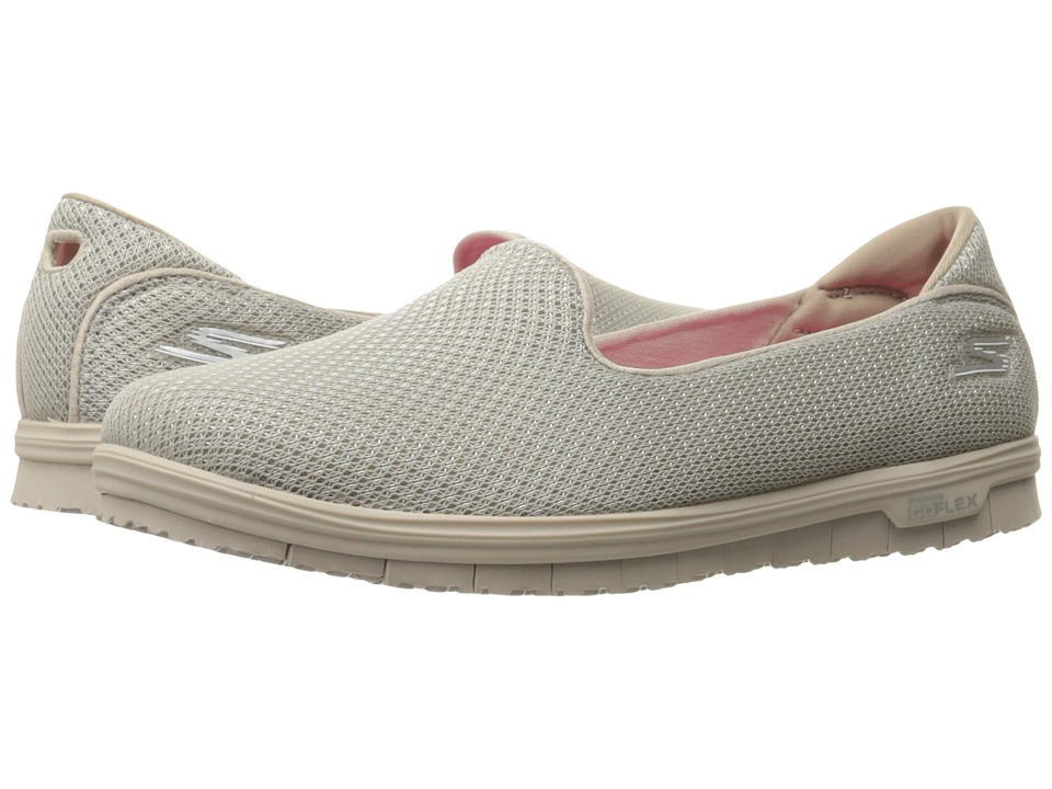 SKECHERS Performance Go Mini Flex (Taupe) Women