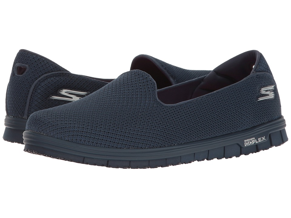 SKECHERS Performance - Go Mini Flex (Navy) Womens Shoes