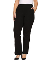 B Collection by Bobeau Curvy - Plus Size Piper Trousers