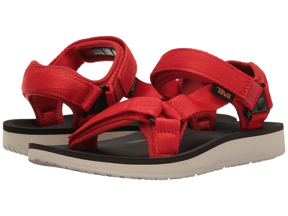 Teva Original Universal Premier (Red) Women's Shoes