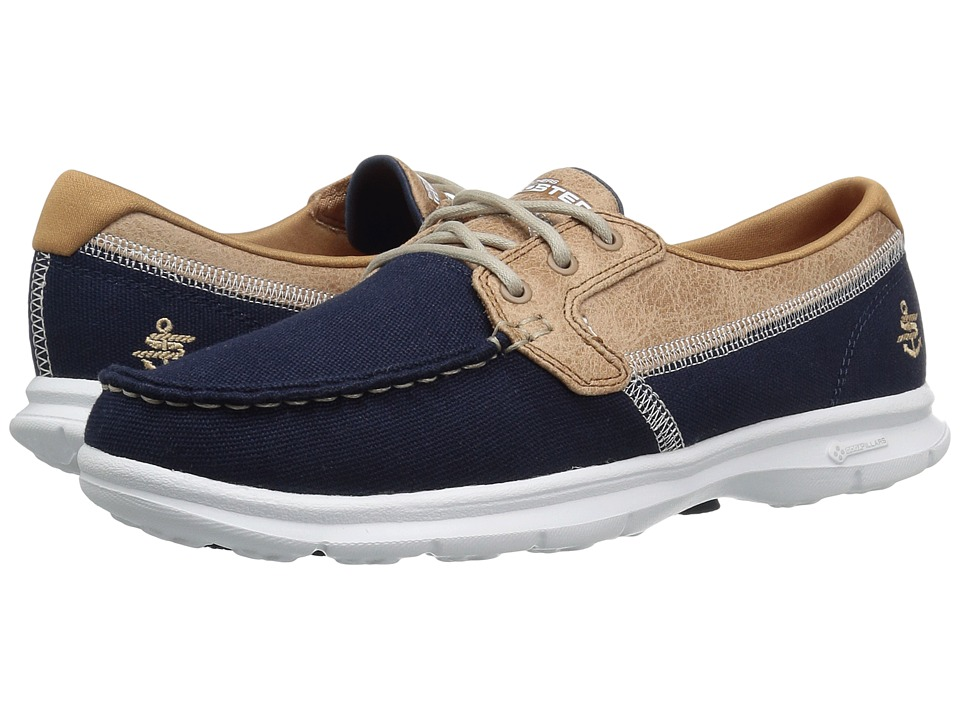 SKECHERS Performance Go Step Seashore (Navy) Women