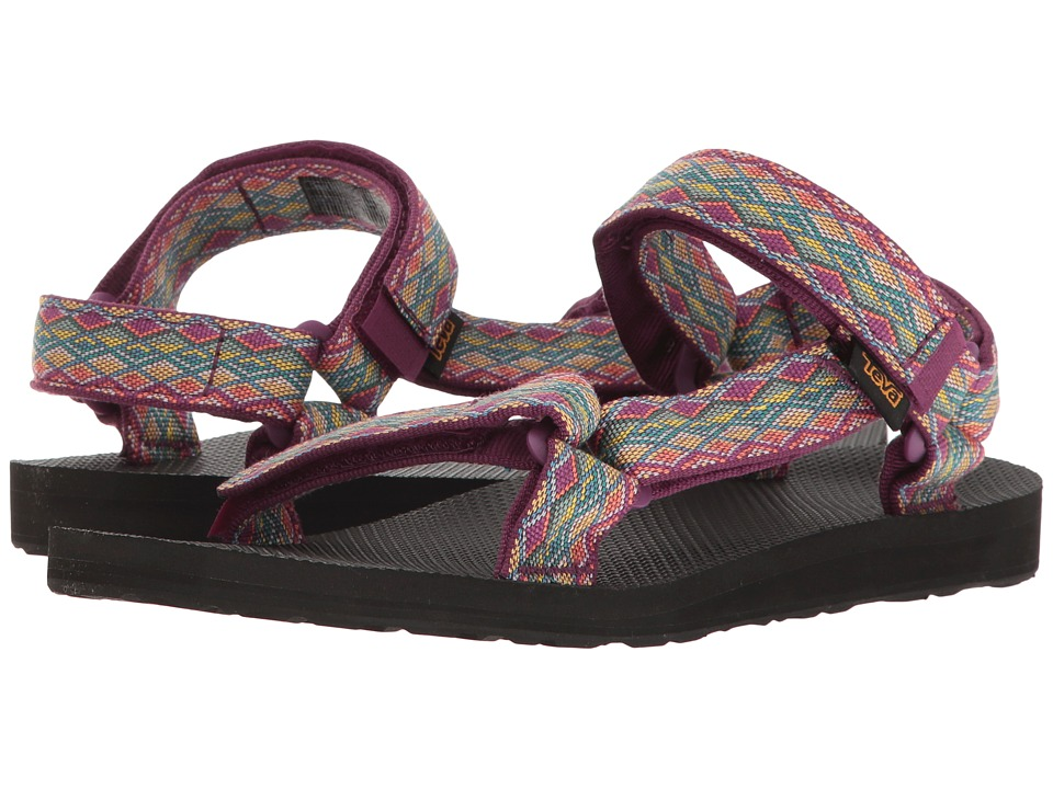Teva - Original Universal (Miramar Fade Dark Purple Multi) Womens Sandals