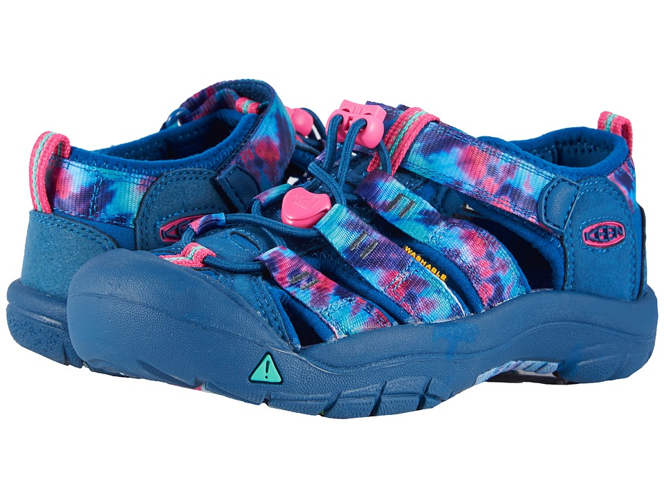 Keen Kids - Newport H2 (Little Kid/Big Kid) (Navy Tye-Dye...