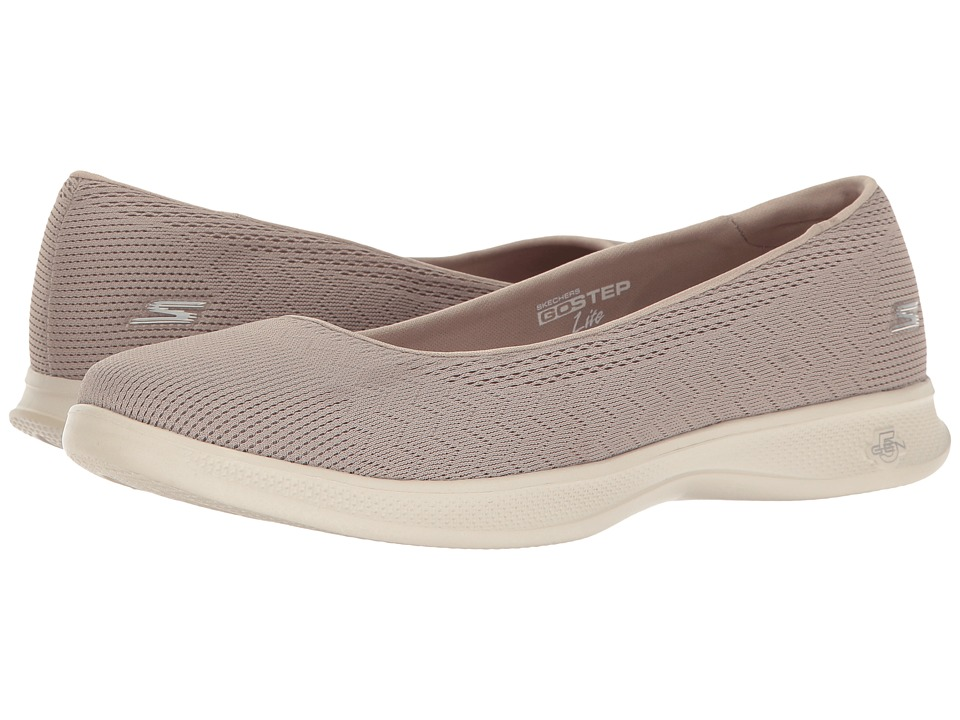 SKECHERS Performance Go Step Lite Solace (Taupe) Women