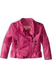 Urban Republic Kids - Distressed Faux Leather Jacket (Infant/Toddler)