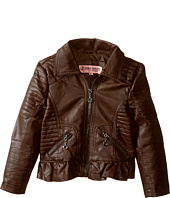 Urban Republic Kids - Distressed Faux Leather Jacket (Toddler)