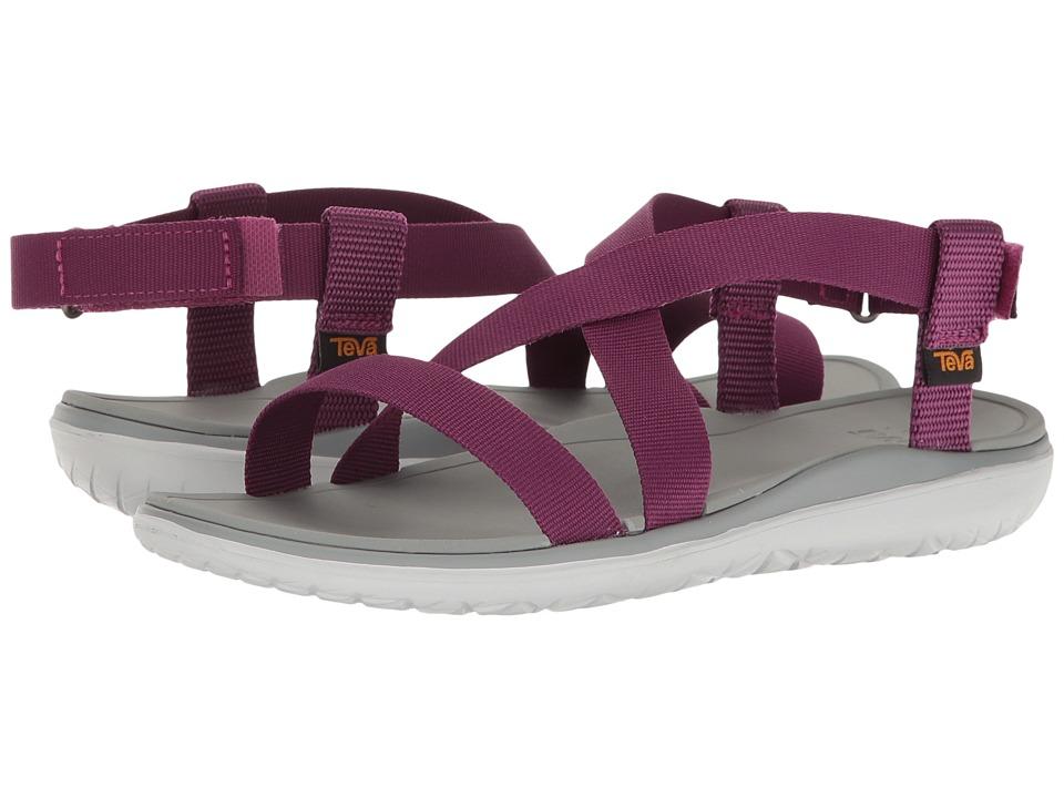 Teva Terra-Float Livia (Dark Purple) Women