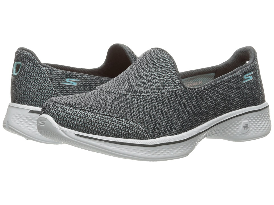 SKECHERS Performance Go Walk 4 Majestic (Gray) Women