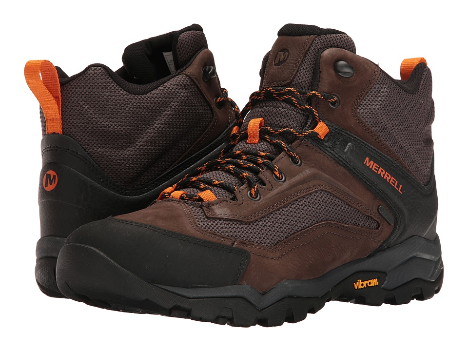 Merrell Everbound Vent Mid Waterproof (Dark Earth) Men